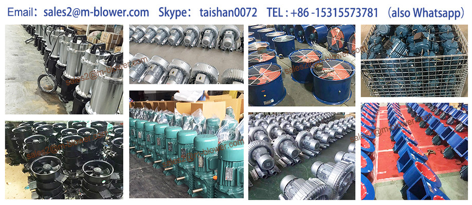 Hight quality products oxygen making use high pressure roots blower