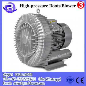 China High Quality medium pressure waste gas emission roots blower