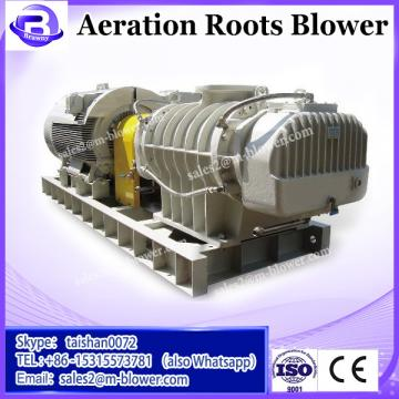 China coal group 2015 hot selling sewage treatment aeration blower three lobes roots blower air blower