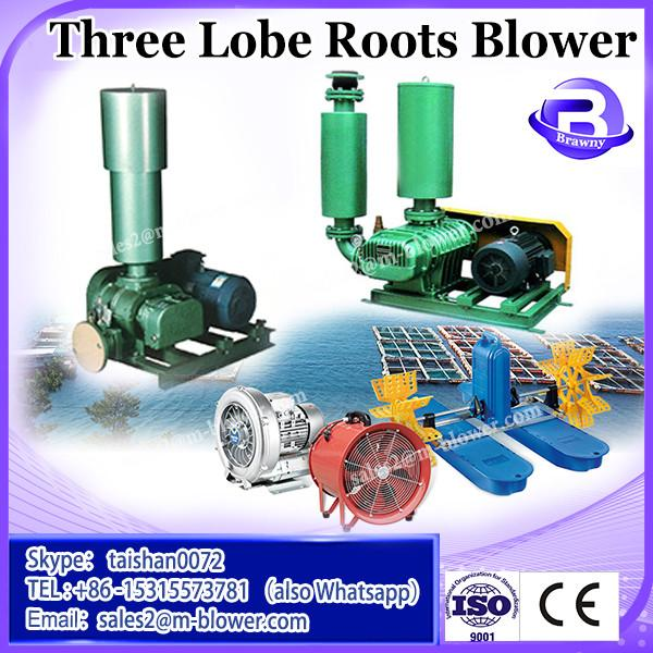 electric motor molasses pump hot sale zysr-50 three lobes rotary type roots blower #3 image