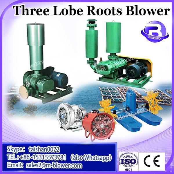 inflate machine three lobe roots vacuum pump air blower manufacture cheap price #2 image